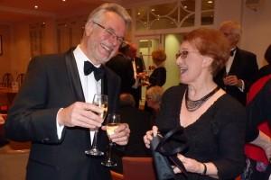 Chairman Jonathan Pegler and President Ann Evans