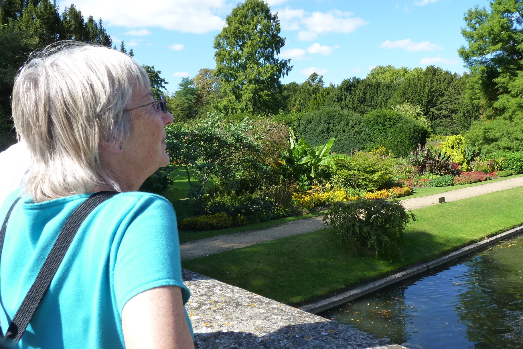 Sue Jones admires Clare' college views